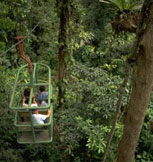 Rain Forest Tram in Braulio Carillo National Park
