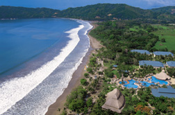The Hotel Playa Tambor is a 5-star Hotel at a Pacific Beach in Costa Rica