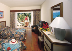 A room at the Hotel Playa Tambor in Costa Rica