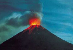 Volcano Arenal in Costa Rica